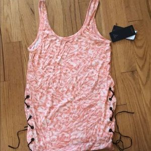 Guess tank top with tie sides